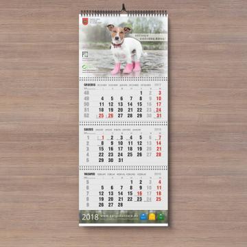 kalenterien painatus